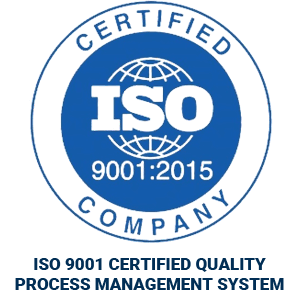 ISO Certified 9001