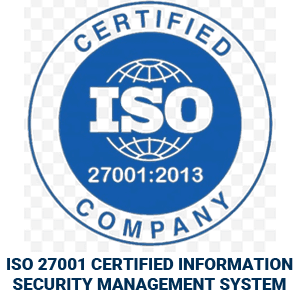 ISO Certified 27001:2013