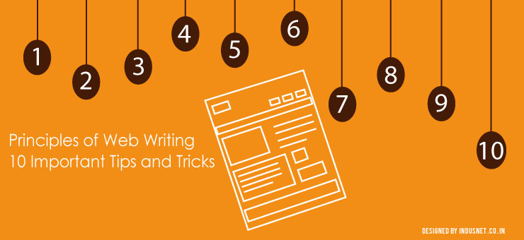 Principles Of Web Writing 10 Important Tips And Tricks