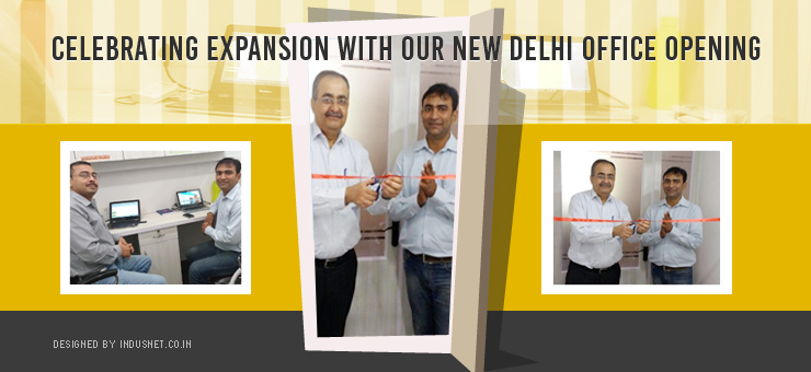 Celebrating Expansion with our new Delhi Office Opening - Indus Net