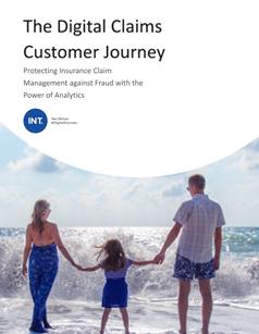 insurance digital Claim - Journey - Analytics Overlay