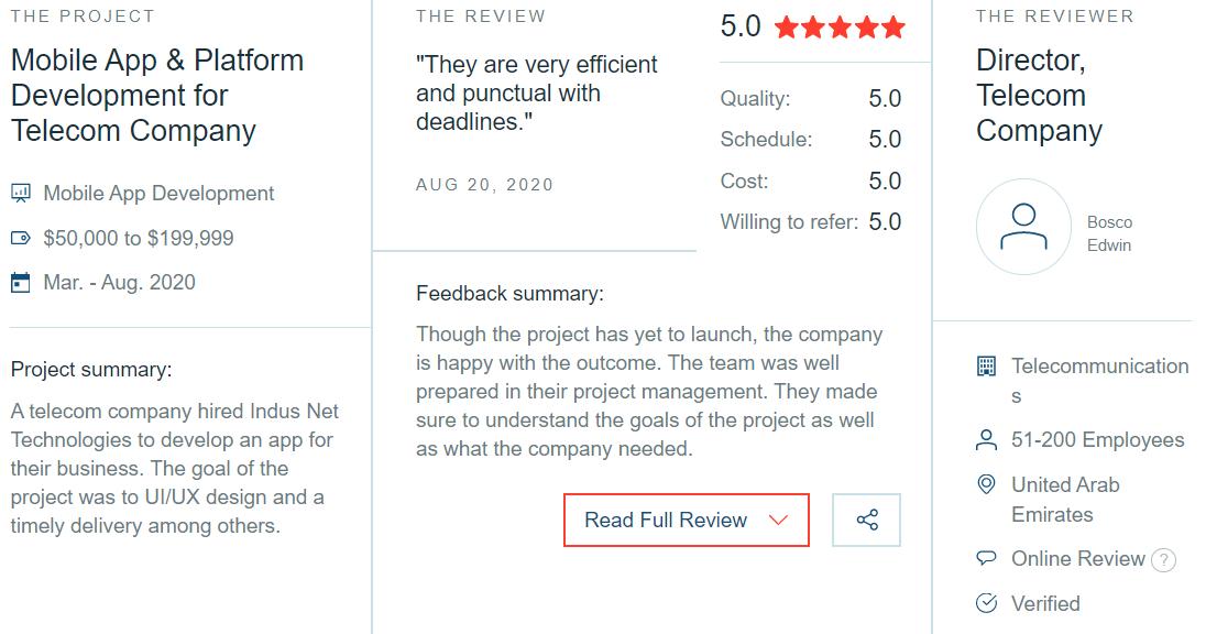 INT-Client -Reviews