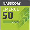Nasscom Emerge50 in 2010