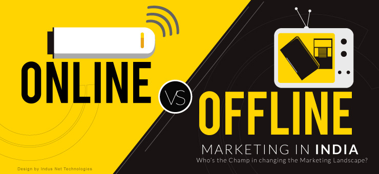 Online vs Offline Marketing in India