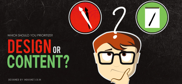 Which Should You Prioritize? Design or Content?