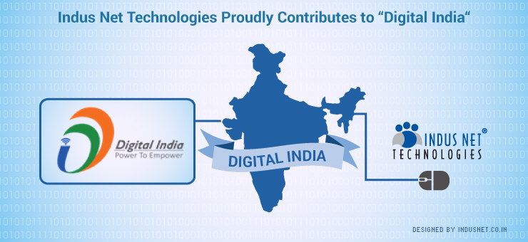 "Indus Net Technologies Proudly Contributes to ""Digital India"""